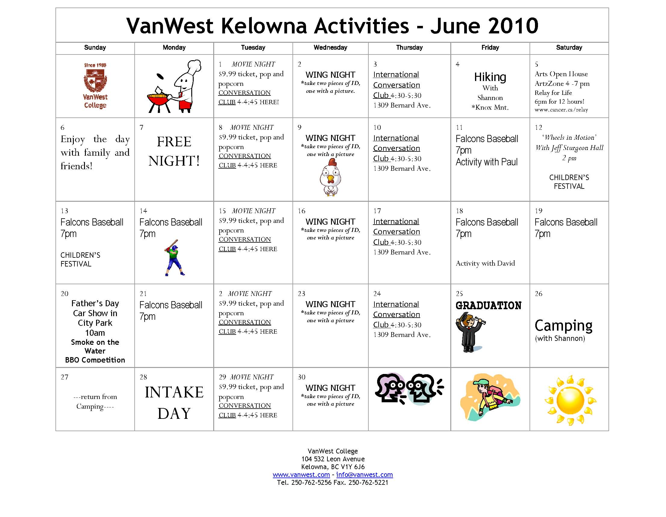 Calendar Activities Esl : Esl calendar activities search results